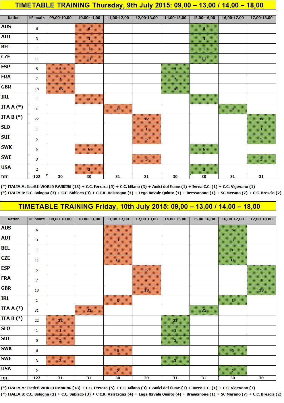 timetable 2015